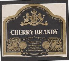 (LOB-40) 1984 AU Cherry brandy label