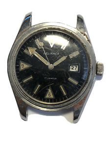 Mens Vintage Reliance Diving Watch For Repair