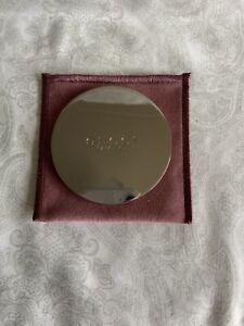 gucci Bamboo Silver Compact Mirror