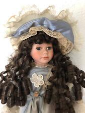 Estate Find MAGICAL MOMENTS THEODORA Victorian Porcelain Doll  31 NIB Puppen & Zubehör