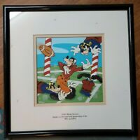 Disney Cel - Goofy Football -189/463 Limited Edition Giclee - AT&T - NFL ESPN