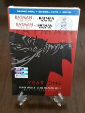 Batman Year One Blu-ray Original Movie with Batman Year One Graphic Novel. New