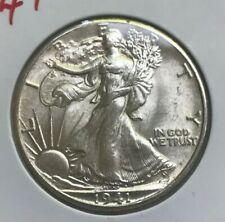 1941 Walking Liberty Half Dollar - Bright Uncirculated