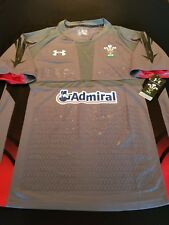 New Men's Under Armour Official Welsh Rugby Union Jersey Style 1237049 Size 3Xl