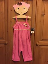 BNWT!! GEORGE @ ASDA GIRL'S PINK SUMMER PLAYSUIT ~ AGE 3-4 YEARS