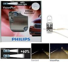 Philips VIsion Plus 60% H3 55W Two Bulbs Fog Light Halogen Legal Upgrade Replace