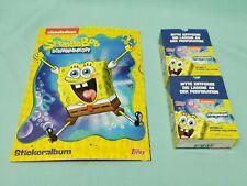 Topps Spongebob Schwammkopf Sammelalbum + 2 x Display  Sticker & Cards  Album