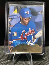 1995 Pinnacle Sammy Sosa # 230 Baseball Trading Card