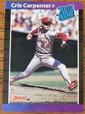 Cris Carpenter1989 Donruss  baseball card #39  (Rated Rookie)...Mint  Condition