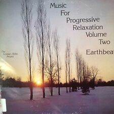MUSIC FOR PROGRESSIVE RELAXATION VOL 2 EARTHBEAT  RARE MINT VINYL 1982