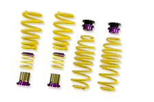 KW HAS 2009+ AUDI A4 S4 A5 S5 RS5 B8 B8.5 HEIGHT ADJUSTABLE LOWERING SPRING KIT