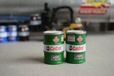 1/18 Scale Fuel Barrels (2) Shop Garage Diorama items from Austin's Garage