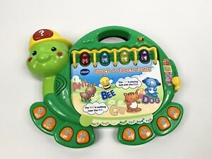 VTech Touch and Teach Turtle Education Read Learning Developmental Baby MusicToy