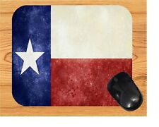 TEXAS STATE FLAG   COMPUTER MOUSE PAD  9 x 7