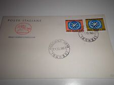 "FRANCOBOLLI ITALIA  1967 ""ANNO INTERNAZ. TURISMO"" FDC CAVALLINO (CAT.X)"