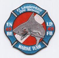 Fort Lauderdale Fire Rescue Department Station 49 Patch Florida FL v2