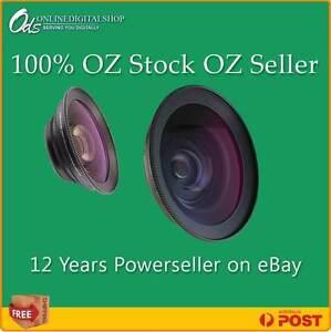 Raynox 0.5X DCR5000 Super Wide Angle HD-52mm Nikon DSLR+FREE Lens Cleaner @ $15