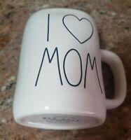NEW RAE DUNN by Magenta I ❤ MOM Coffee Tea Mug Farmhouse Mother's Day Home Decor