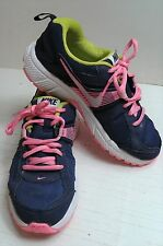 Nike Motion Fit Donna bluetrainers. Lime & Rosa Taglia UK 3 EUR 35.5. eccellente.