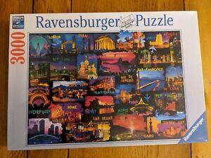 Rare Sealed brand new Ravensburger 3000 piece New Year Celebration jigsaw puzzle