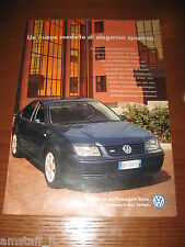 *AI67=VOLKSWAGEN BORA=PUBBLICITA'=ADVERTISING=WERBUNG=COUPURE=
