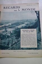 REGARDS SUR LE MONDE N°58 1938 ROUEN L'OR GEO LITTERAIRE JAPON ILES PHILIPPINES