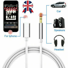 Aux Cable For iPhone 11 7 8 Plus X XR 3.5mm Lead Car Stereo Transfer Audio Music
