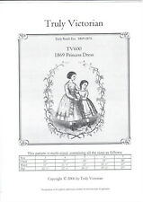 Little Girls Victorian Vintage Princess dress Sewing Pattern sizes for 2-4 years