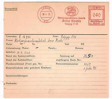 Krebs 1935 AFS Leipzig Werkzeugmaschinen Unikat für die große Sammlung Archivkt