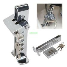 Brake Pedal Lock Security Car Auto Stainless Steel Clutch Lock Anti-theft Device