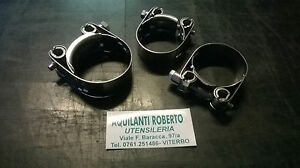 COLLARI / FASCETTA PESANTE W4 IN ACCIAIO INOX AISI 304 TIRAGGIO A VITE