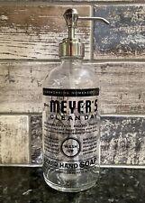 New ListingMrs. Meyer's Clean Day Glass Hand Soap Dispenser New
