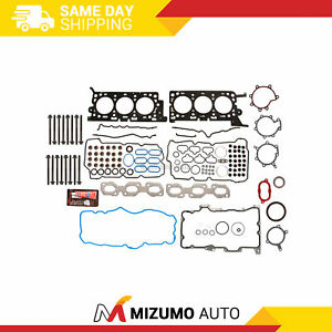 Full Gasket Set Head Bolts Fit 06-07 Ford Five Hundred Freestyle Mercury 3.0