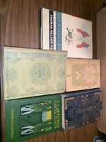Thomas Nelson Page Book Lot Of 5 Inc; 1894 Meh Lady, 1902 Captured Santa Claus,.