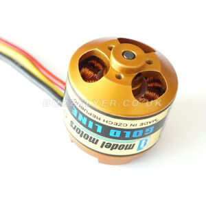 AXI GOLD LINE 2814/22 Short Shaft 60cm Cables Brushless Motor