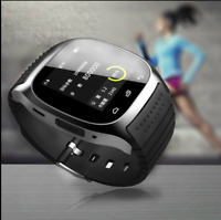 M26 Bluetooth Wrist Smart Watch Phone Mate Sync For iPhone Android Samsung IOS