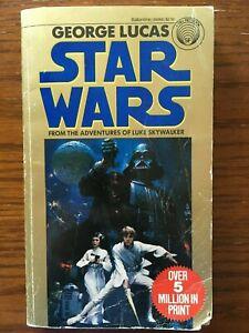 Star Wars The Adventures of Luke Skywalker by George Lucas 1980 paperback
