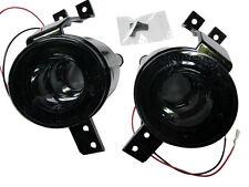 For Mini Cooper R50/R52/R53 S Halo Rims LED Front Bumper Indicator Light - Smoke