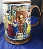 Royal Doulton Beswick CHARLES DICKENS CHRISTMAS CAROL Tankard Stein Mug 1972