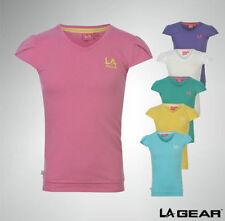 Girls' Short Sleeve Sleeve V Neck T-Shirts, Top & Shirts (2-16 Years)
