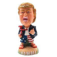 Donald Trump Doll Bobblehead Hawaiian Dashboard Doll with Surfboard from Hawaii