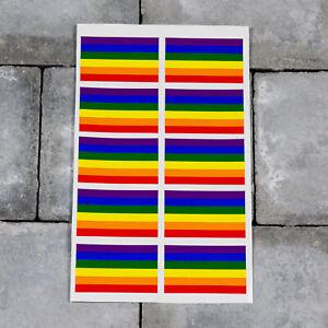 Rainbow Fox 10 pcs 105*82 cm Cadre peint photo Cadres noir vinyle autocollant mural Stickers muraux Decal D/écoration