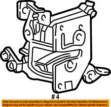 FORD OEM 99-03 Ranger Front Door-Lock Latch Kit 2L5Z10219A65AB