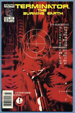 The Terminator The Burning Earth #5 1990 Ron Fortier Alex Ross Now Comics