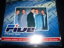 Five 5 – If Ya Gettin' Down Australian CD Single – Like New