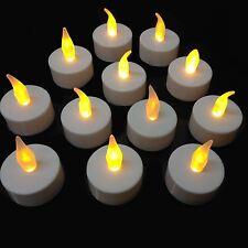 Flickering Flameless LED Tea Light Candles Battery Operated Tealights 24 PK Tea Lights 54039s