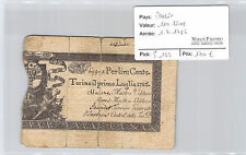 Italy 100 Liras 1.7.1786 N°69903 Pick S 122