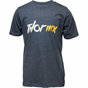 Thor MX Youth Fashionable Casual Wear Latest Fashion T-Shirt Navy