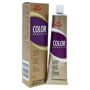 WELLA COLOR PERFECT VERY LIGHT BLONDE PERMANENT CREAM HAIR COLOR 57G
