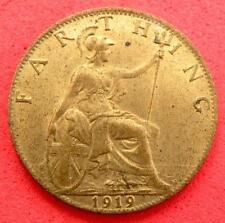1919 - George V - Farthing - B/UNC - SN8728